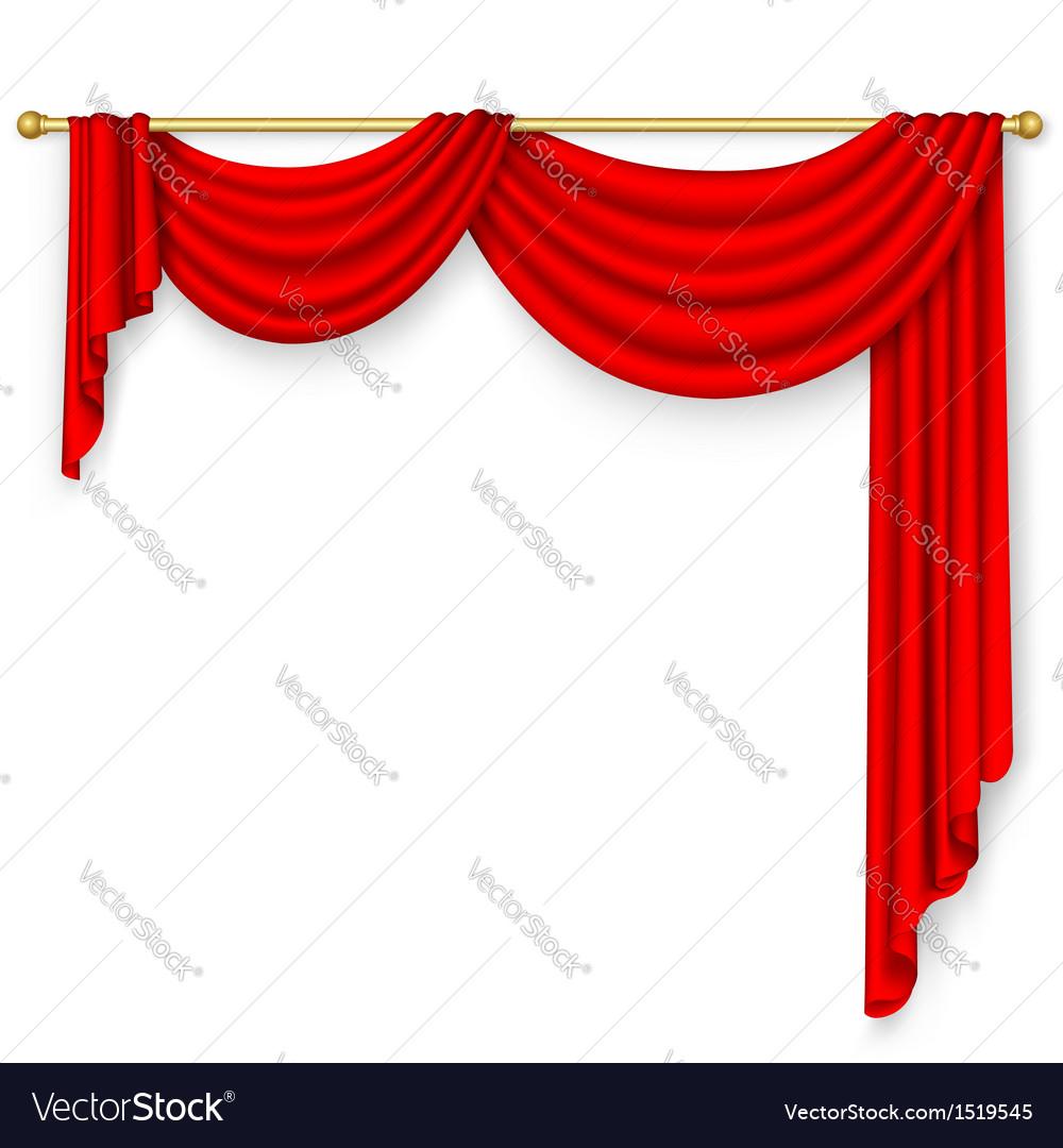 Curtain mesh vector
