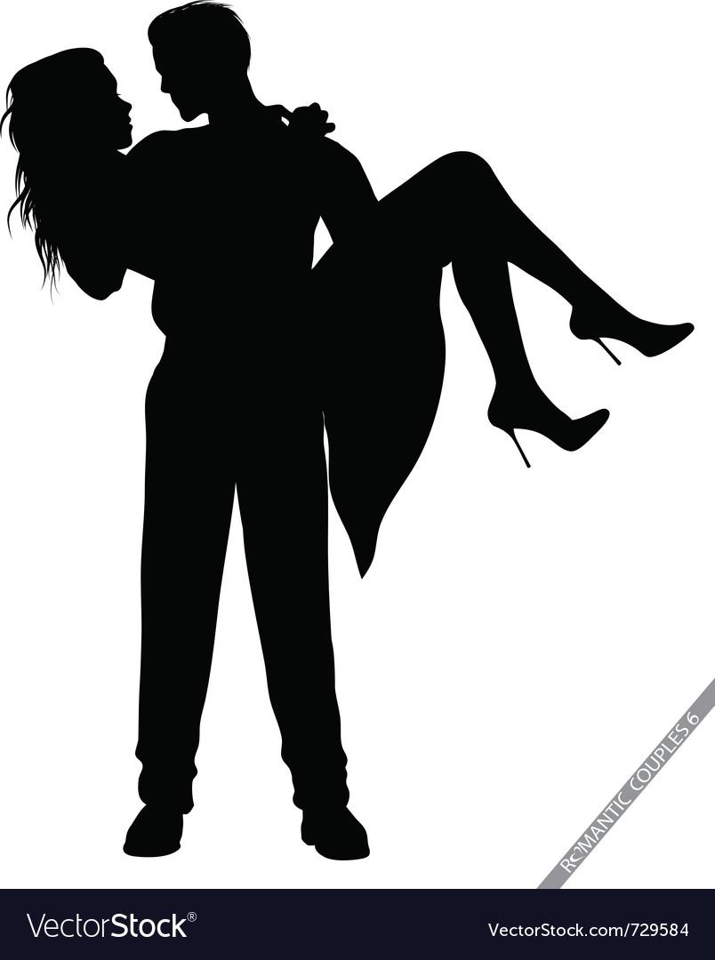 Romantic couples vector