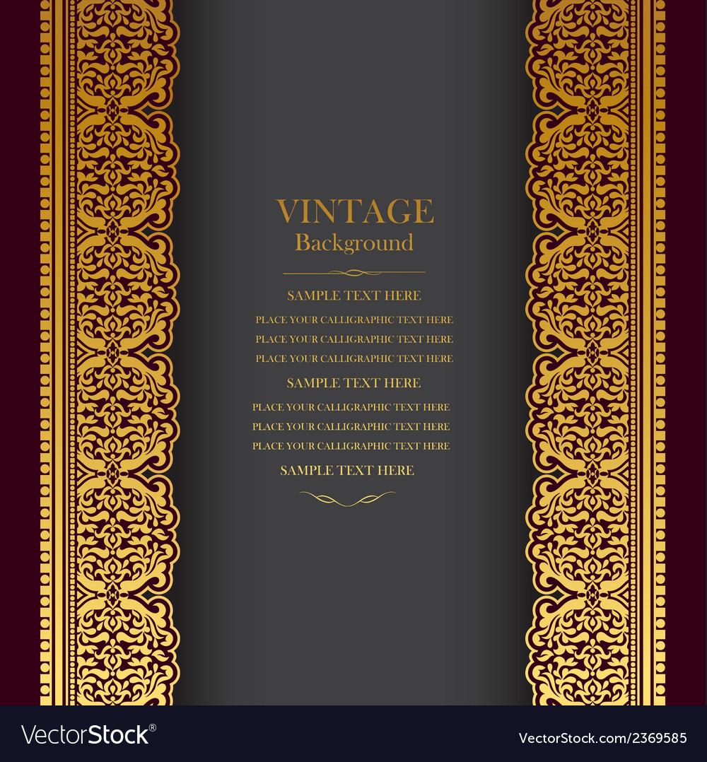 Book cover royal vector