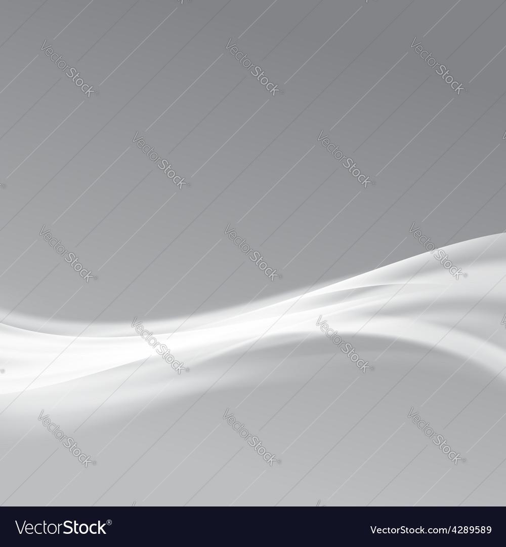 Modern bright glow swoosh transparent line vector