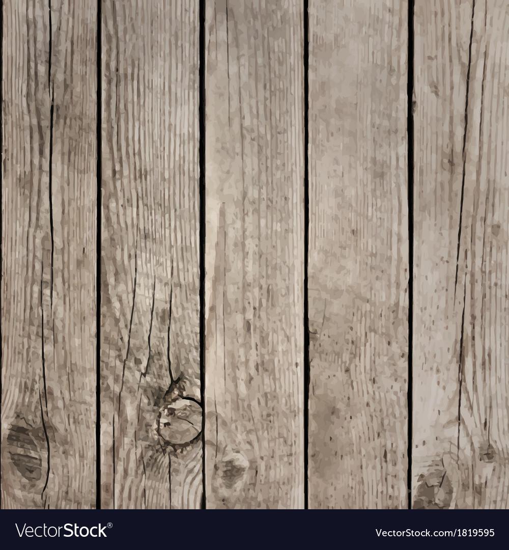 Wood boards floor texture vector