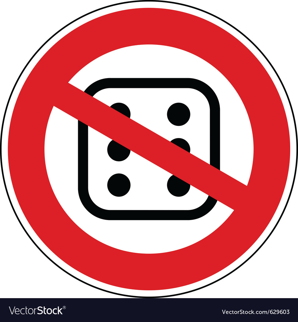 No gambling vector