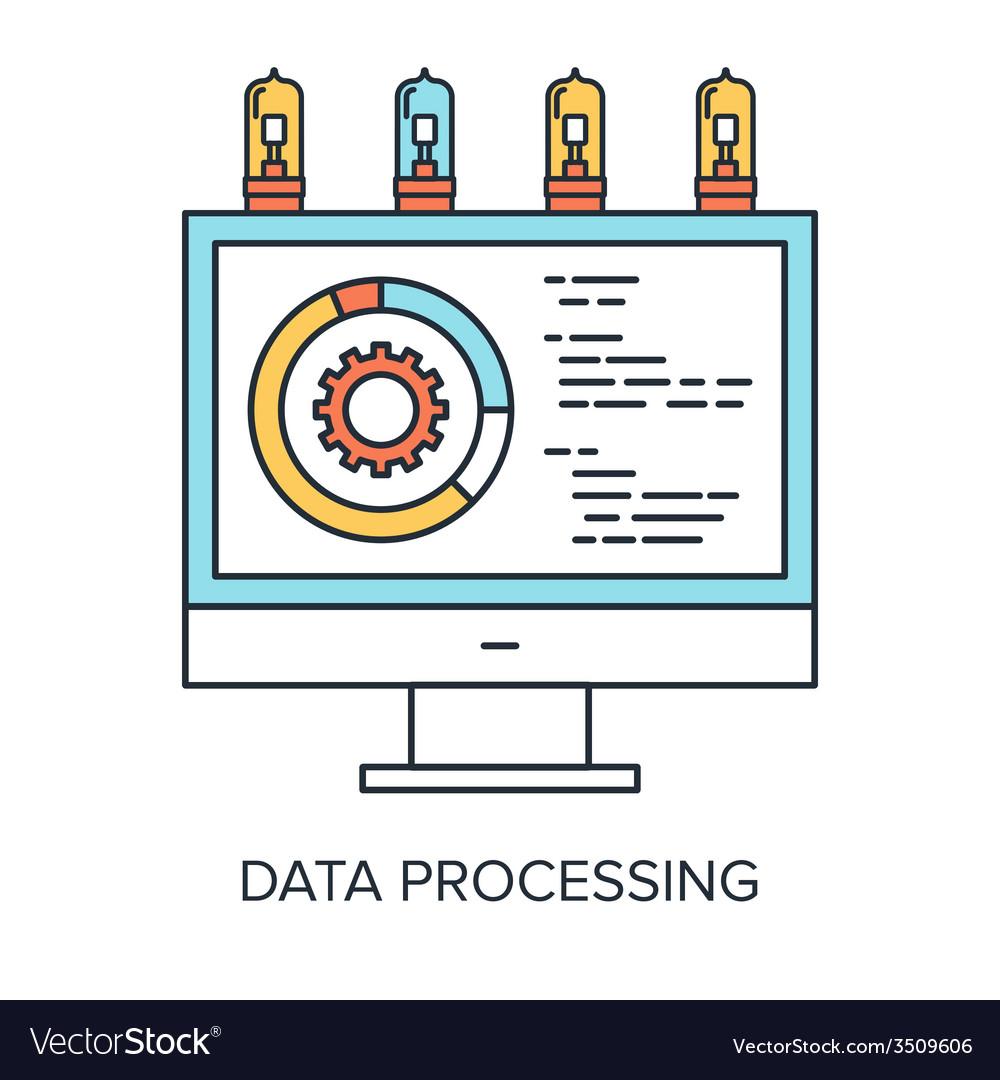 Data processing vector