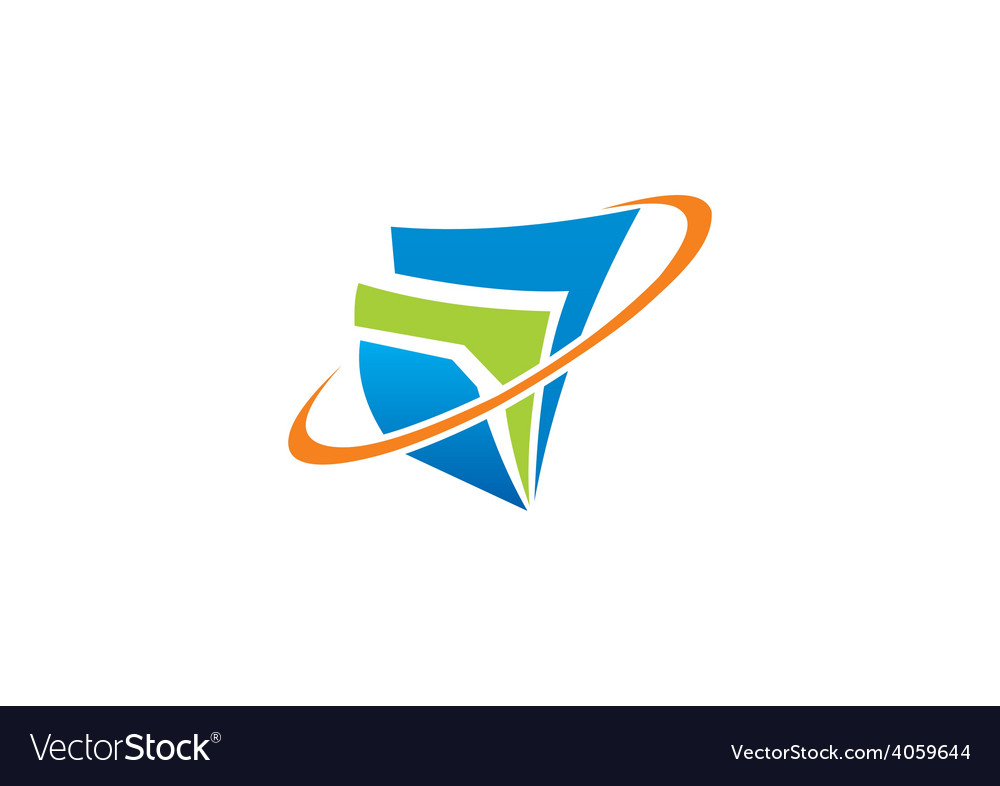 Document finance abstract logo vector