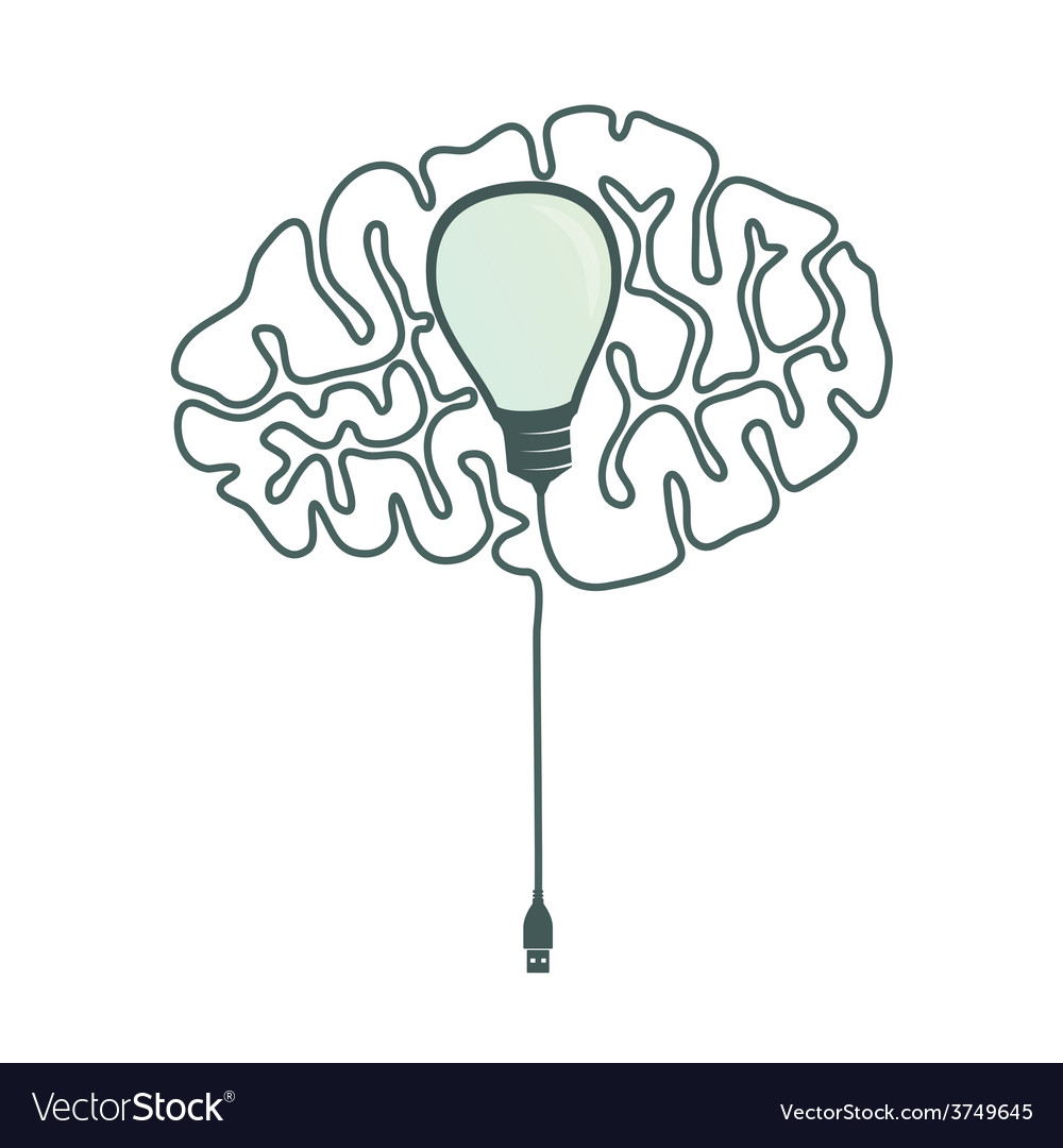 Usb idea vector