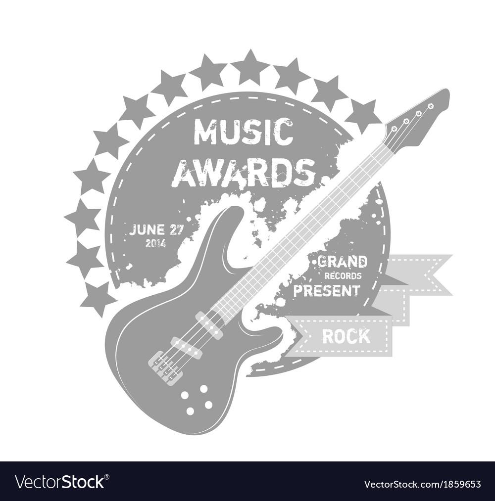 Music label vector