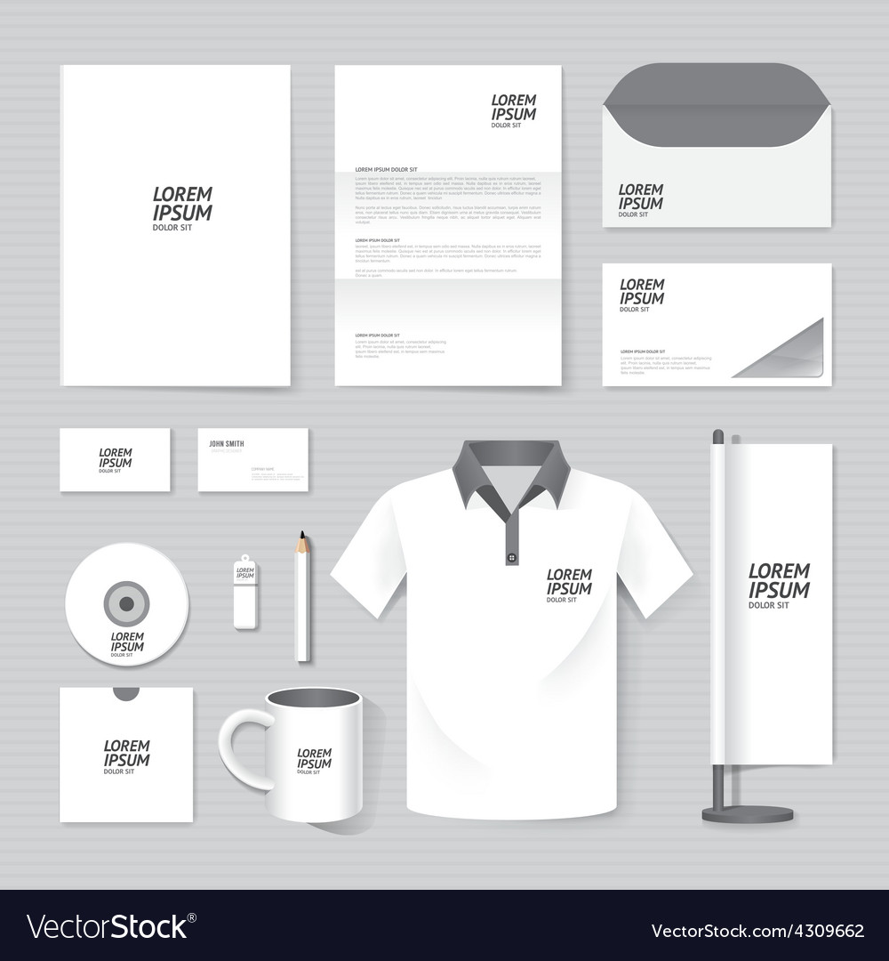 Brochure flyer magazine folder t-shirtcover bookle vector