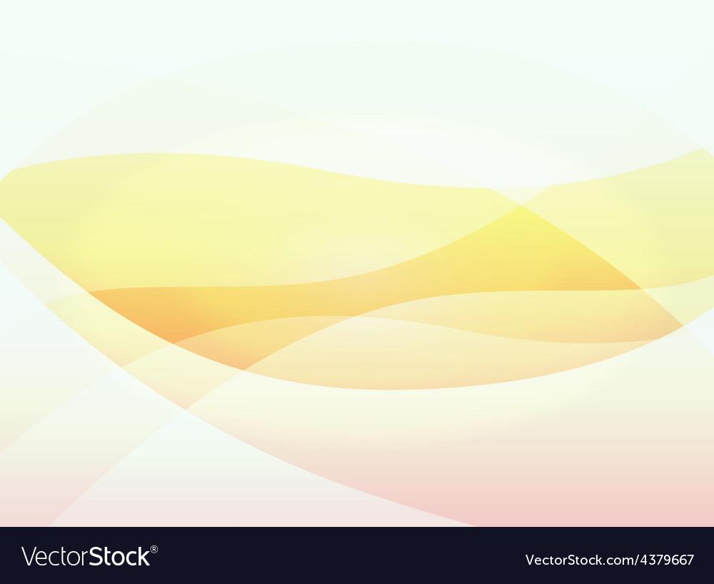 Orange warm background vector