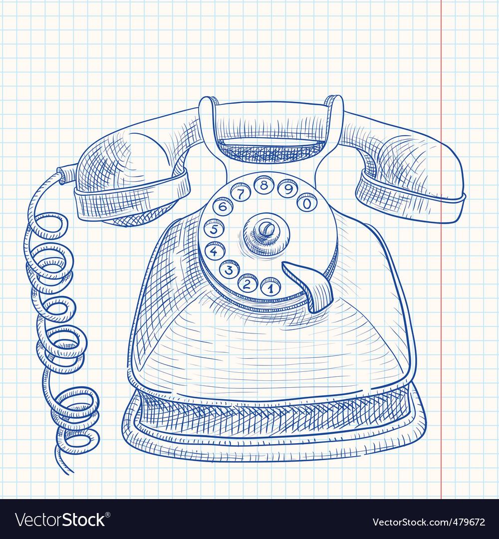 Telephone vector