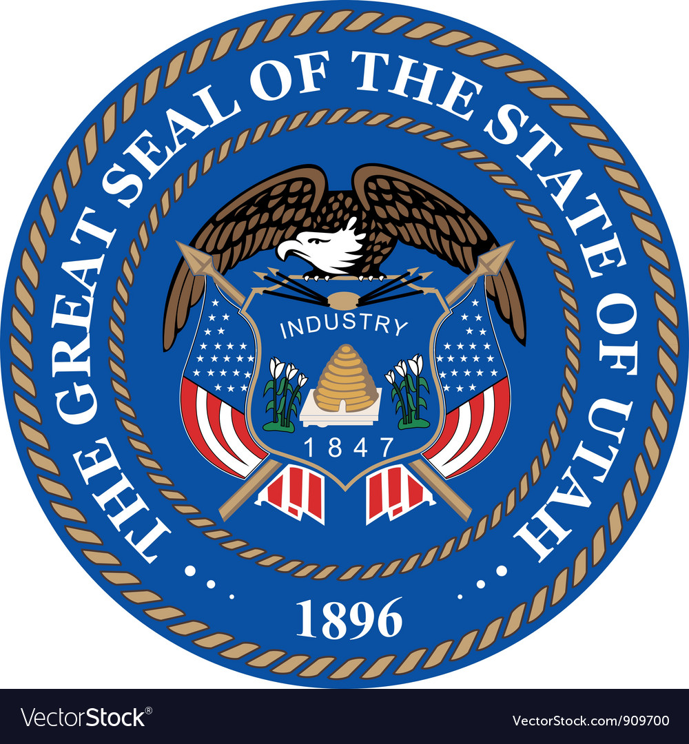 Utah seal vector