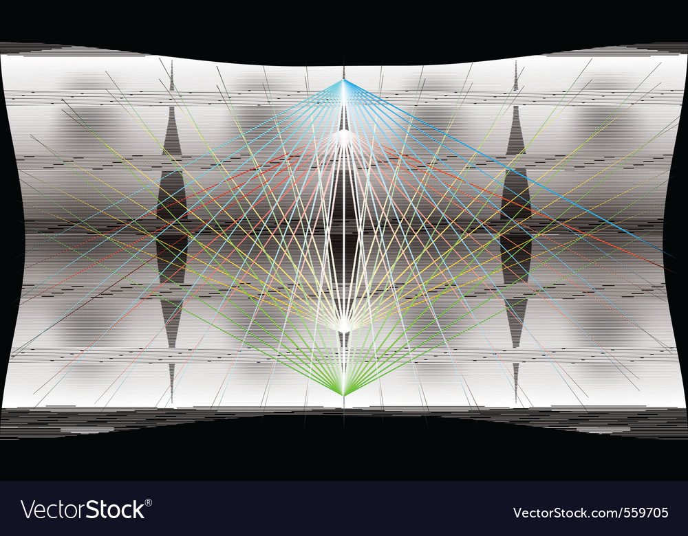Trance background vector