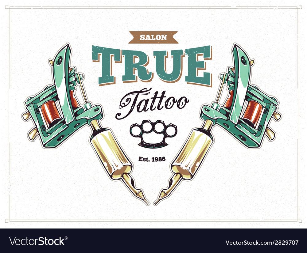Tattoo print 1 vector
