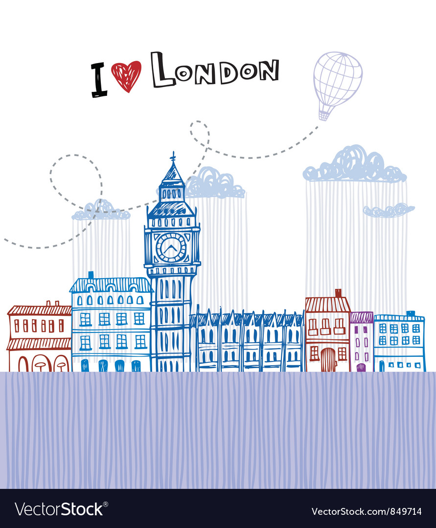 I love london 2 vector