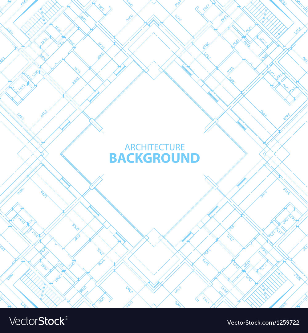 Architecture background vector