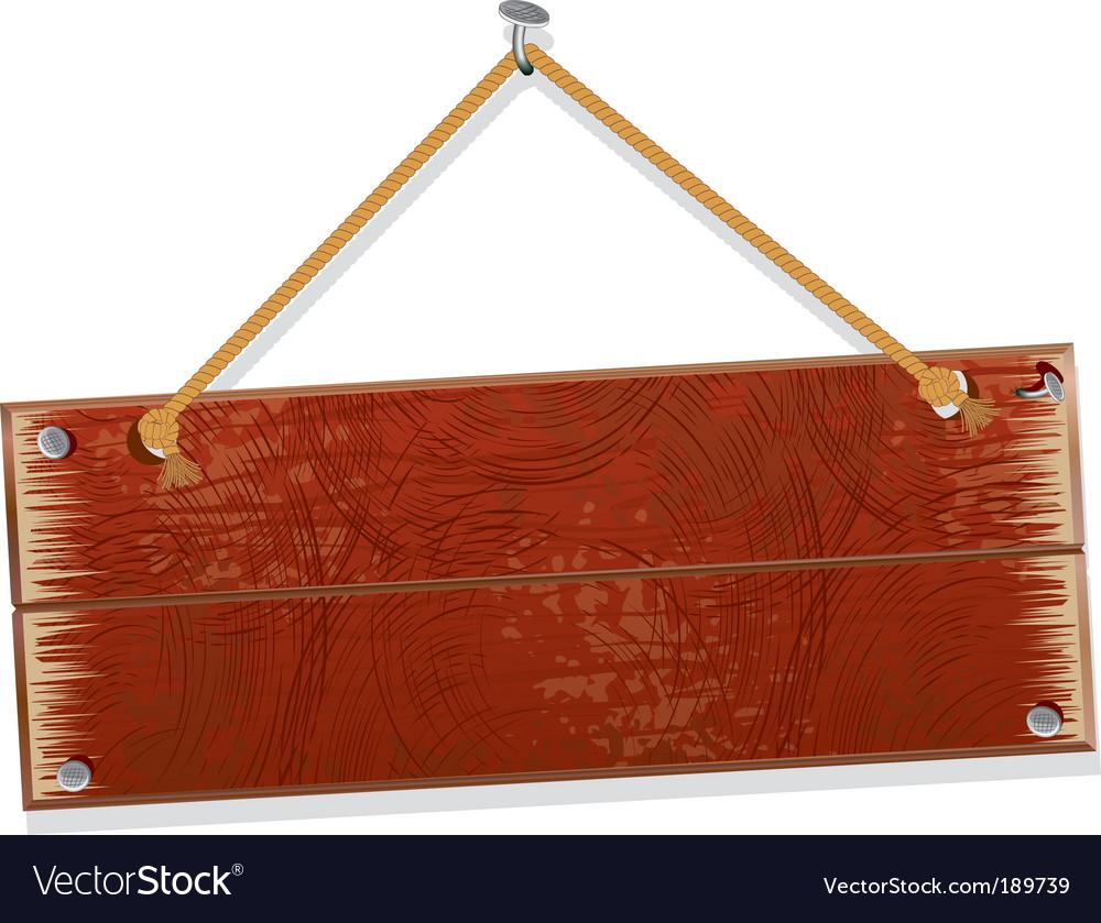 Old board vector