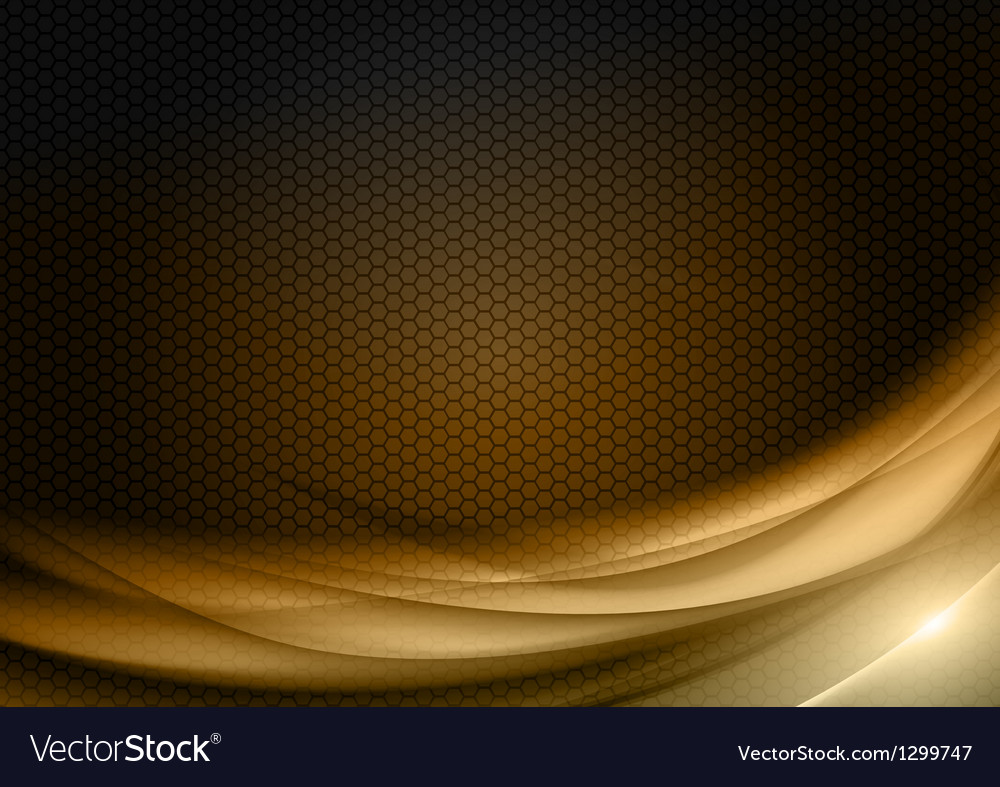Abstract background honey color vector