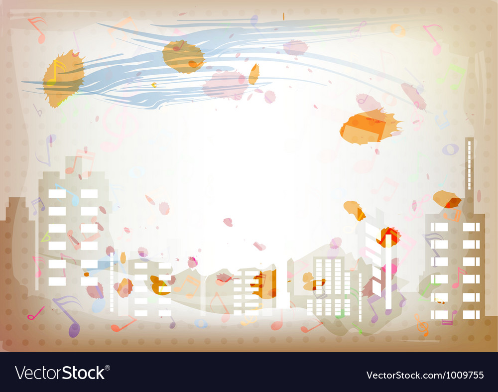 Antique artistic watercolor background vector