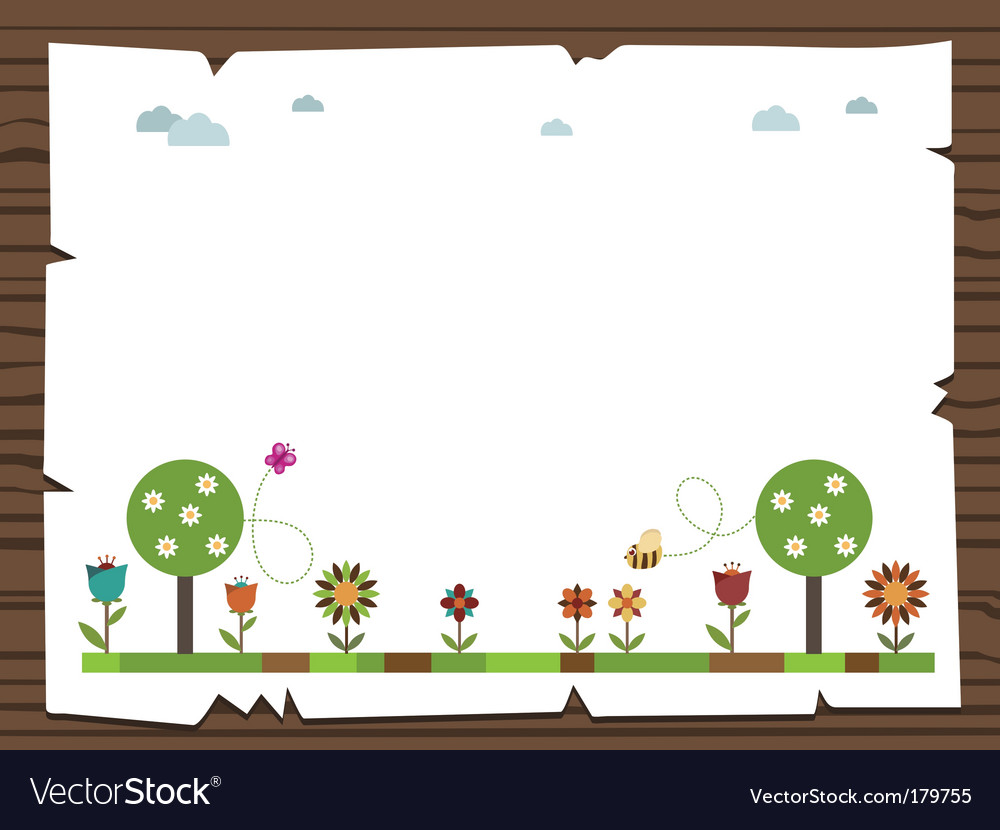 Nature sign vector