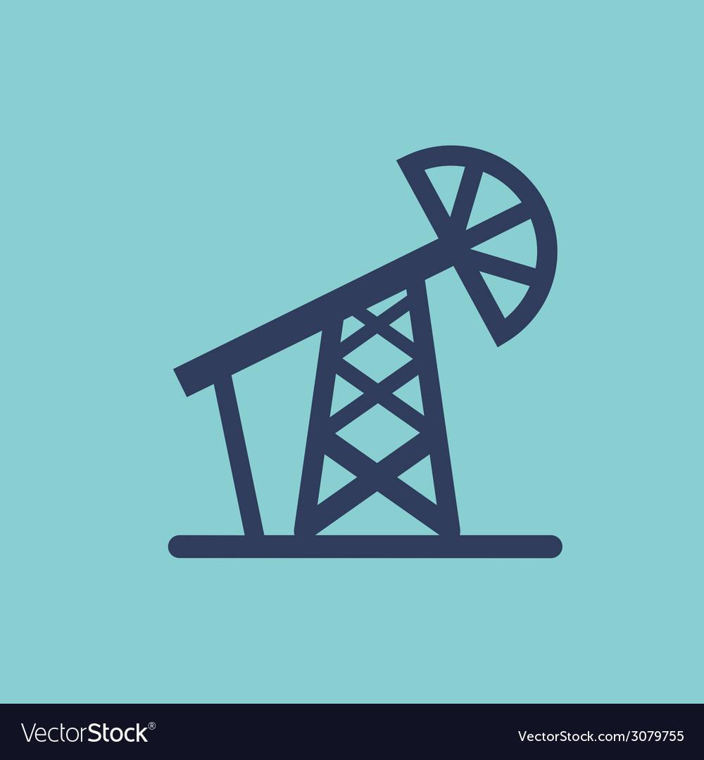 Oil design vector