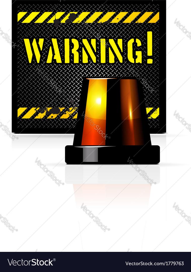 Warning background vector