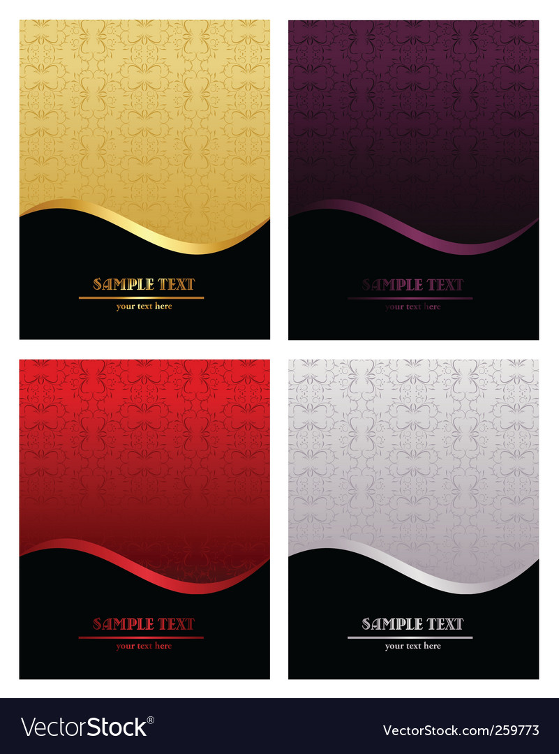 Luxury backgrounds vector