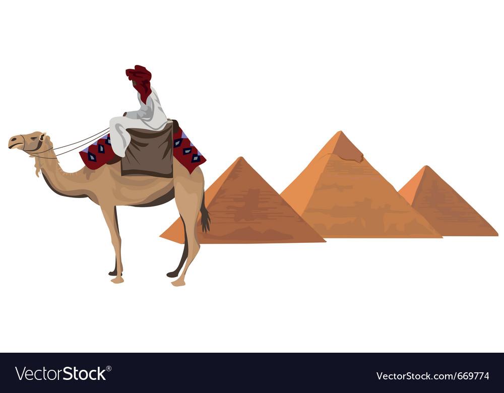Egyptian elements vector