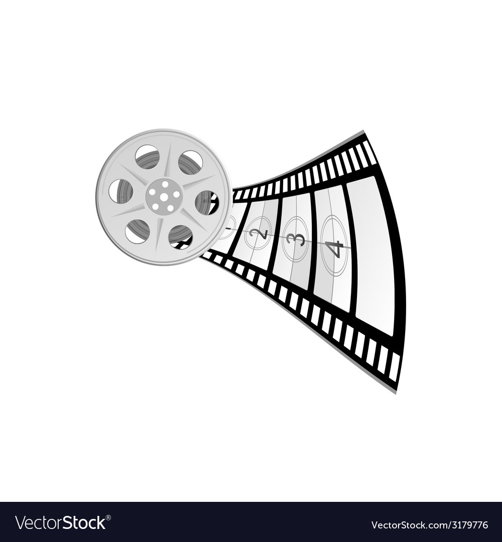 Film tape part two vector