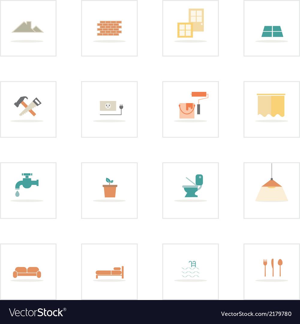 Icon homeinovate vector