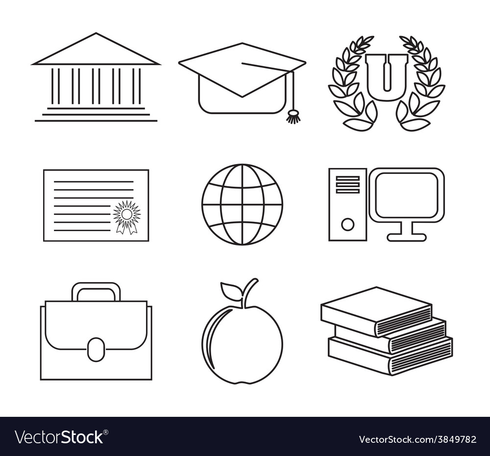 School concept design vector