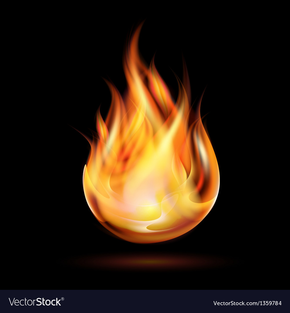 Symbol of fire vector