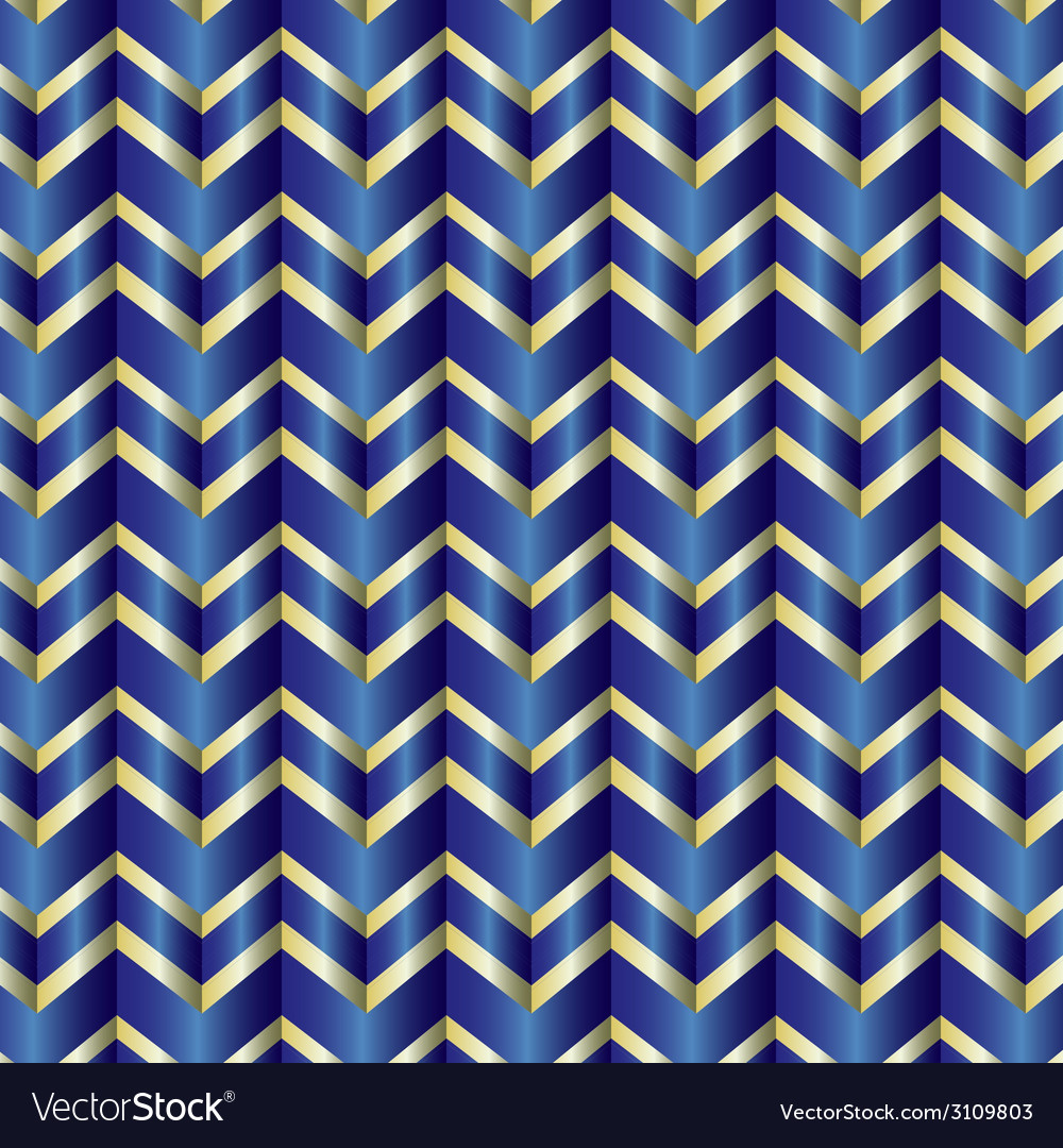 Chevron blue ribbon vector