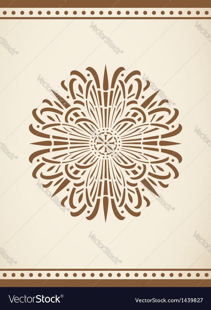 Vintage design element vector