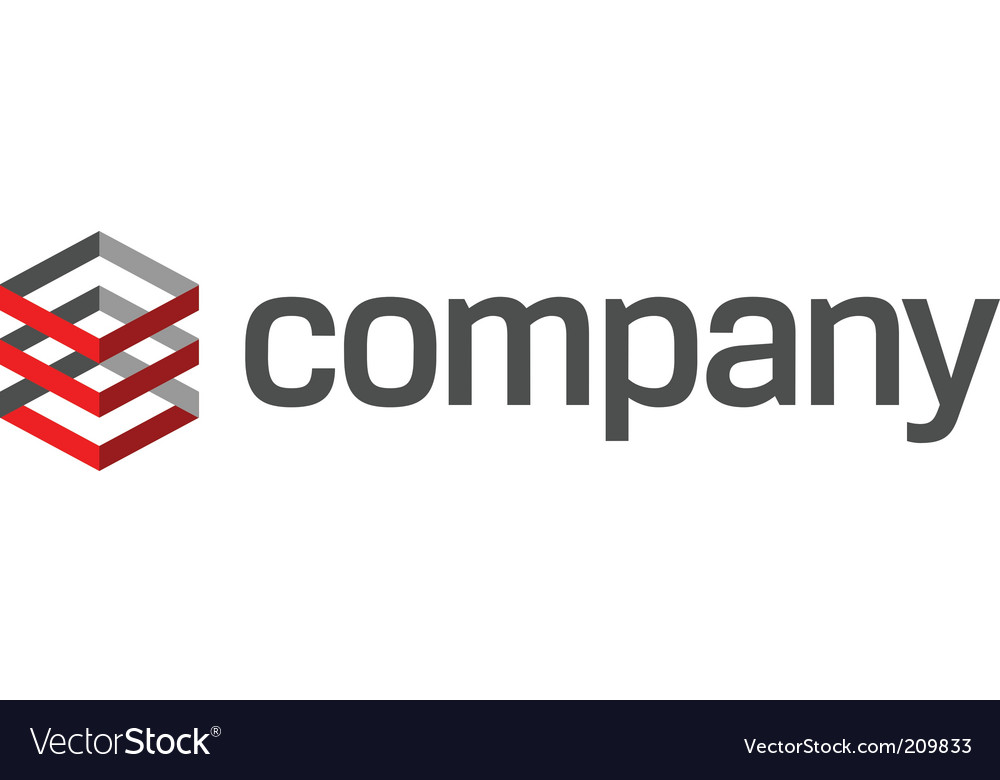 Abstract logo for finance business vector