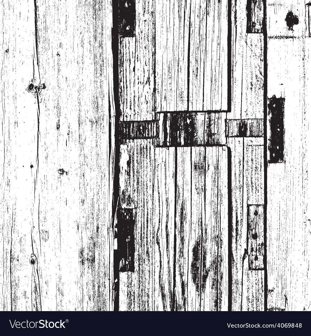 Distressed dry boards vector