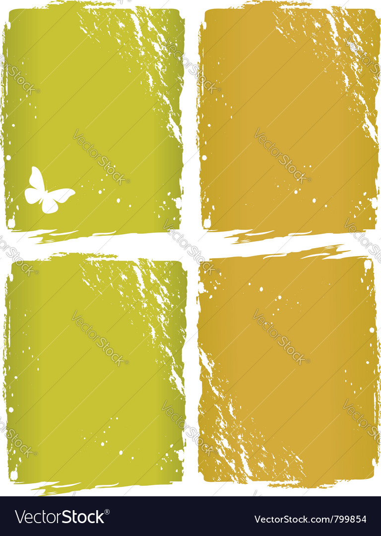 Grunge window background vector