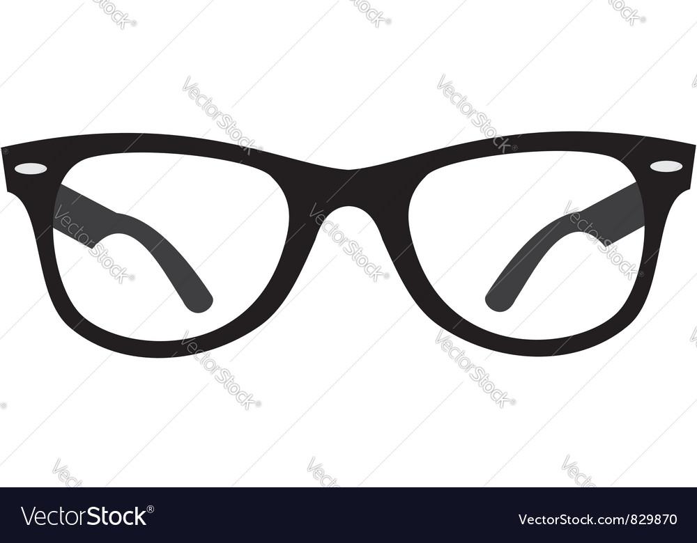Glasses ray ban vector