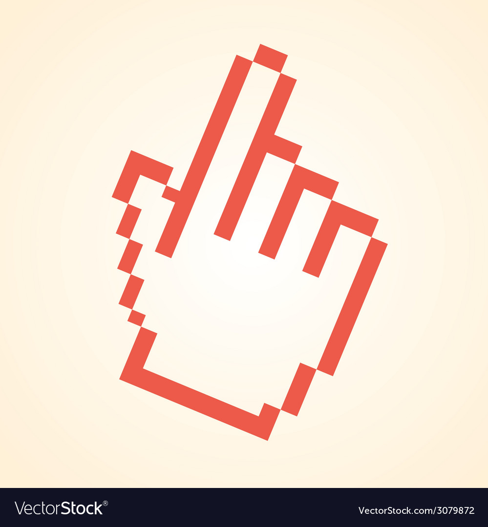 Pointer design vector