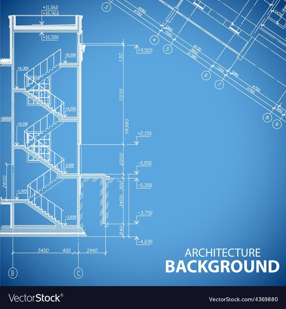 Unique building backgrounds vector