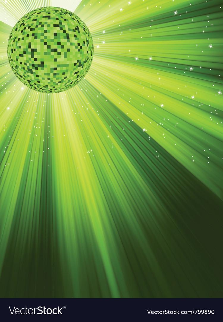 Party disco ball vector