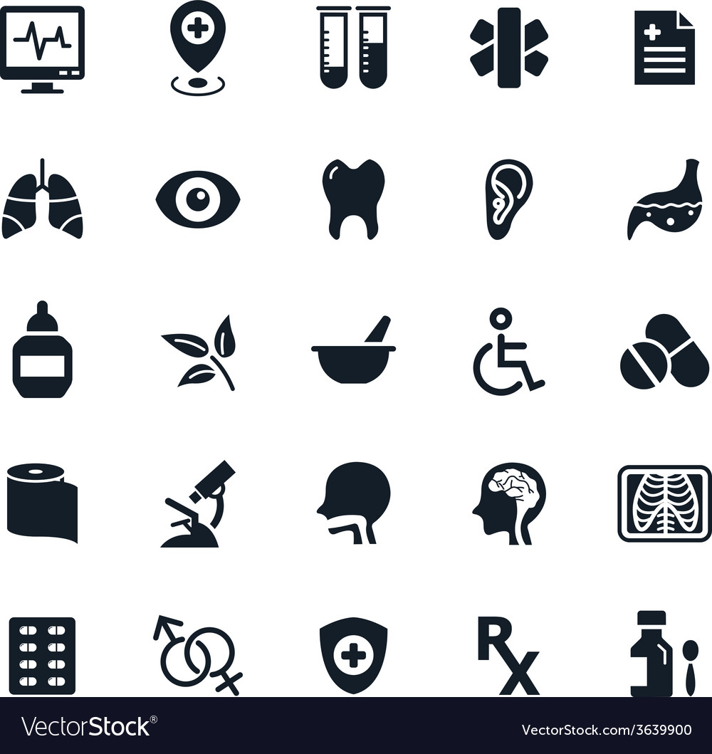 Medicine and healthy icon vector
