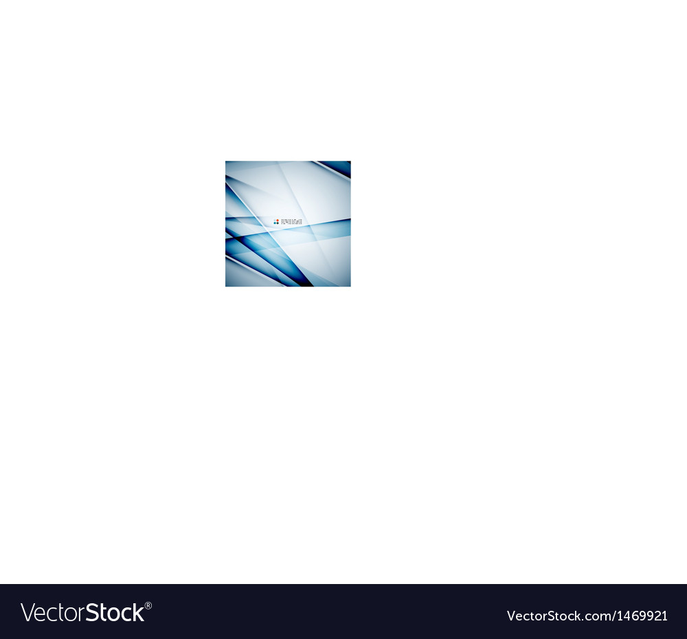 Modern glass straight lines vector