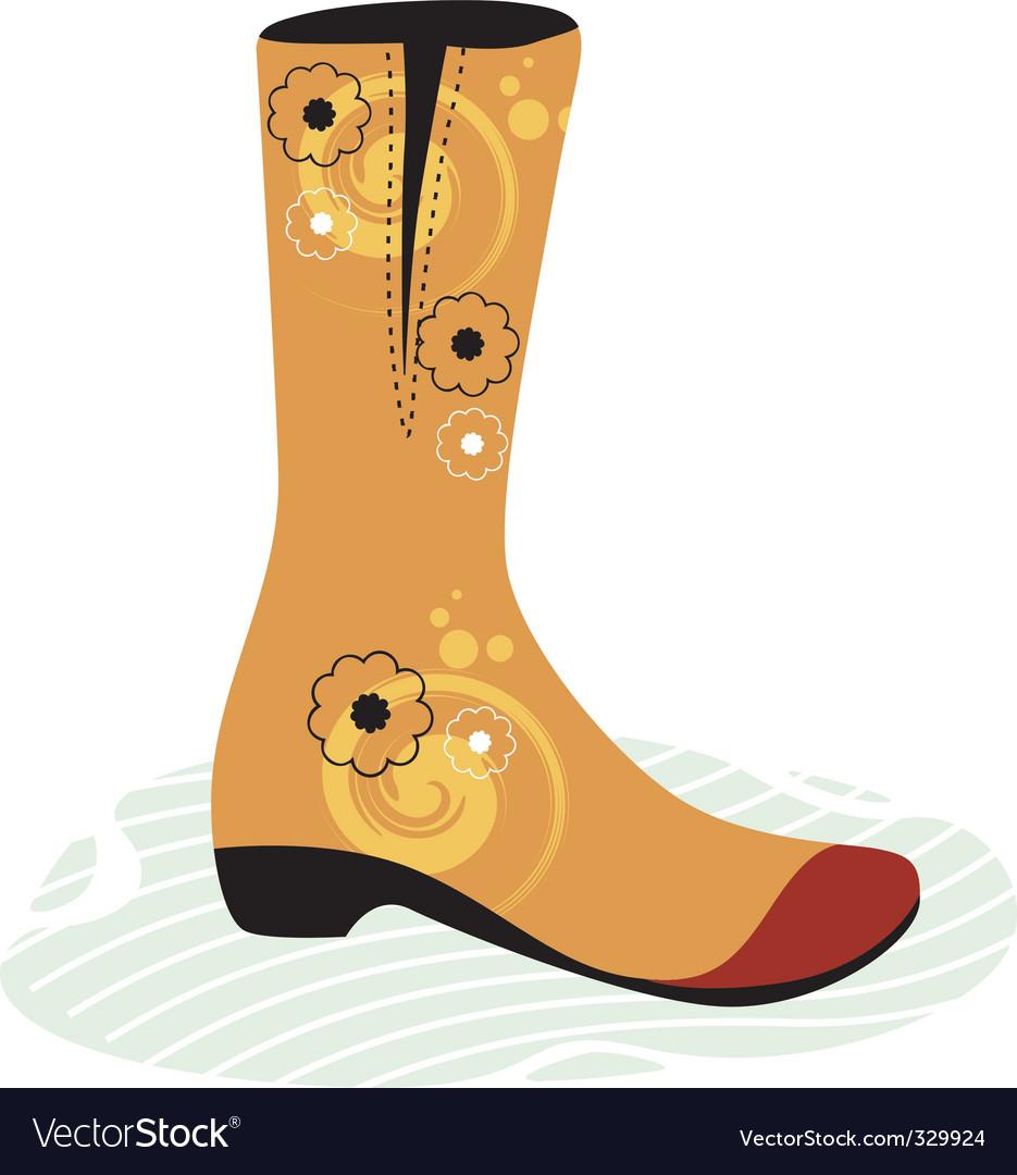Foot wear vector