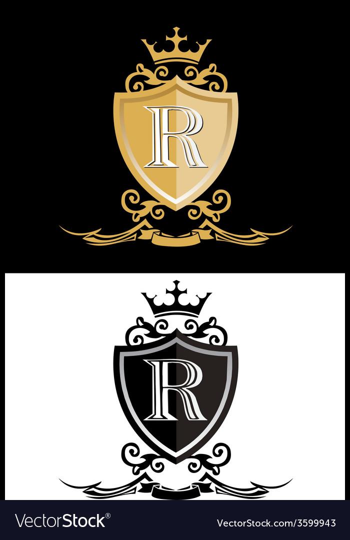 Royal king vector