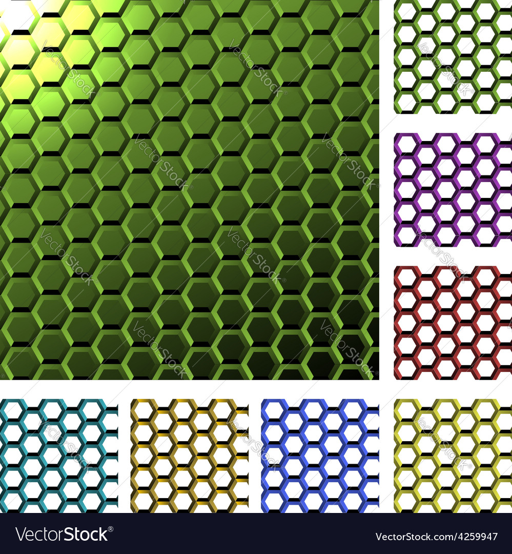 Abstract cell background vector