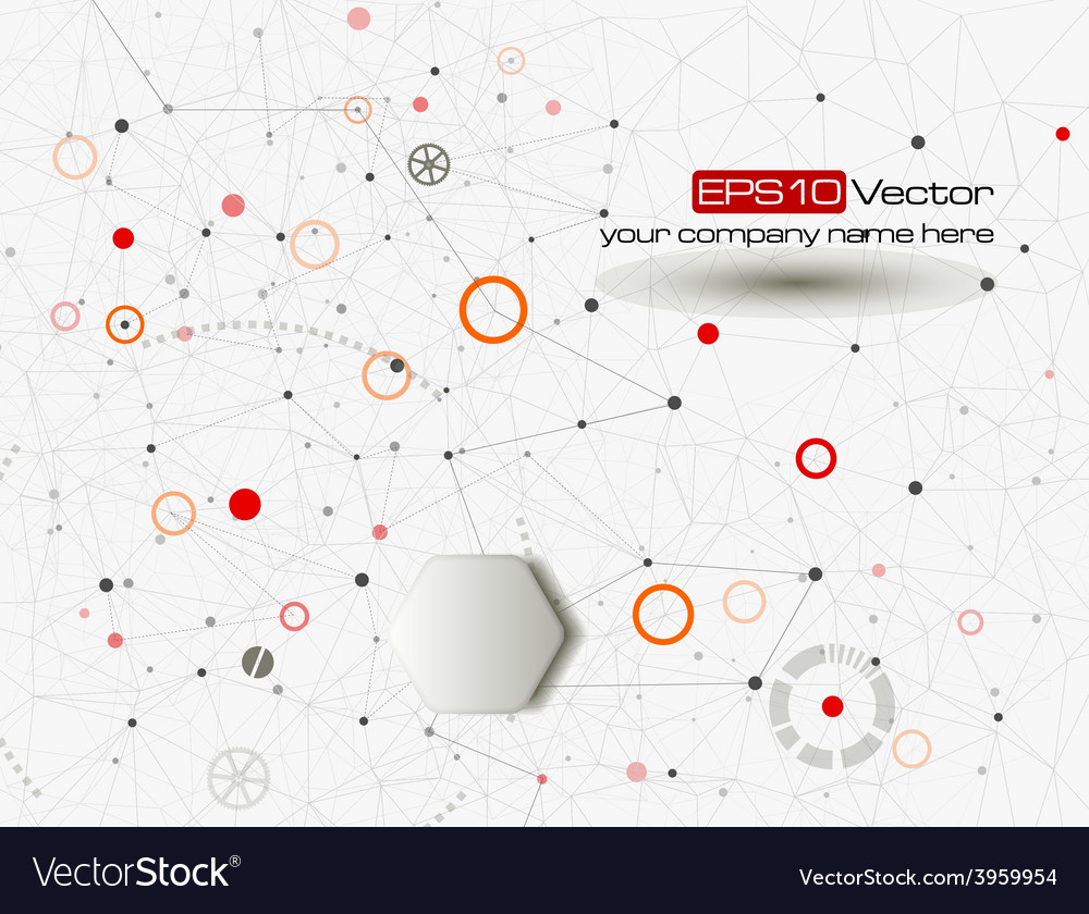 Industry technology and communication concept vector