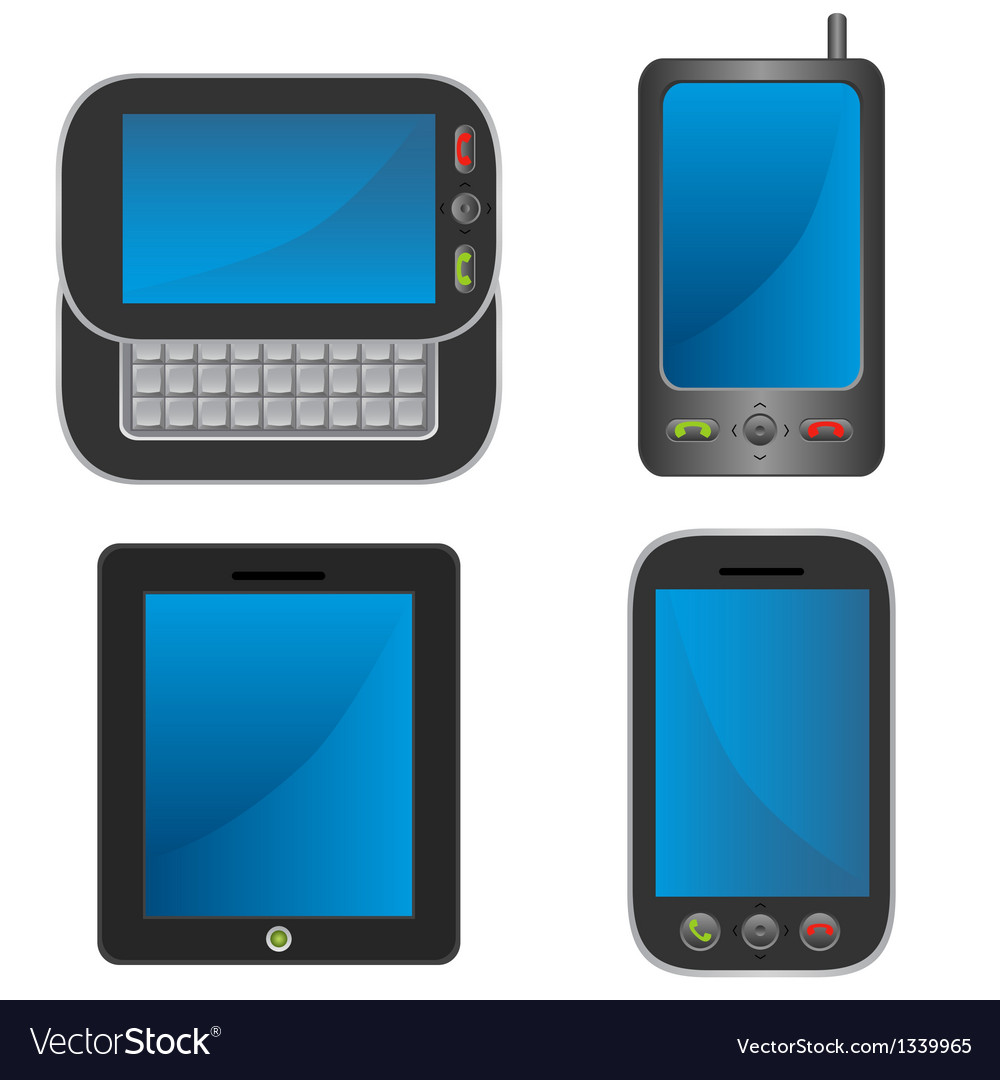 Smartphone collection vector