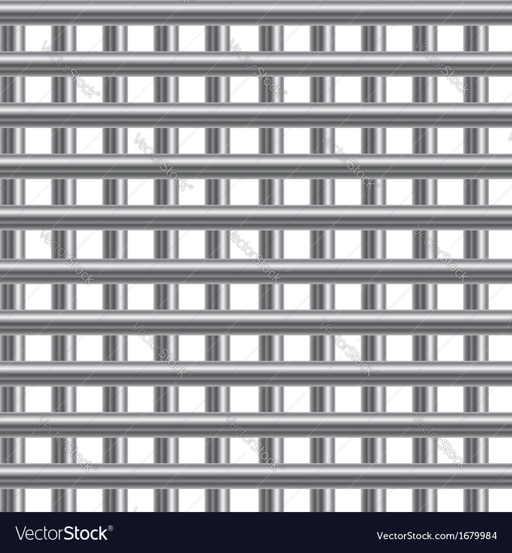 Stainless steel bars background vector