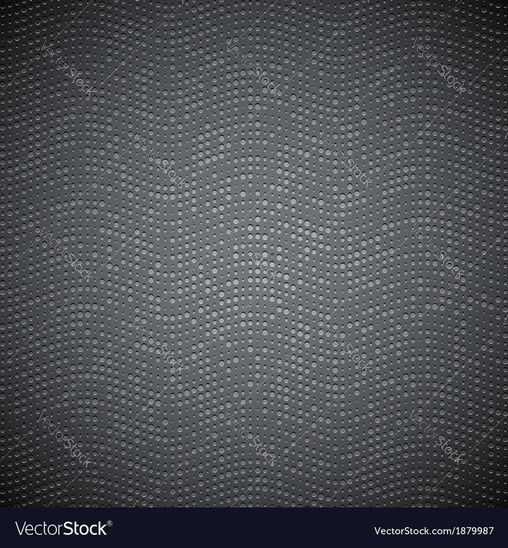 Dark metal doted texture vector