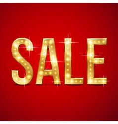 Flash sale gold vector