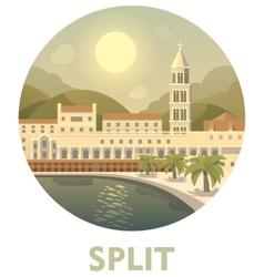 Travel destination split vector
